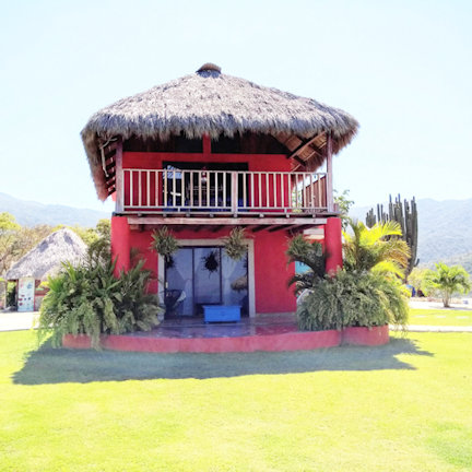 Happy Hill Pancho Villa 2nd Floor Room with Ocean View