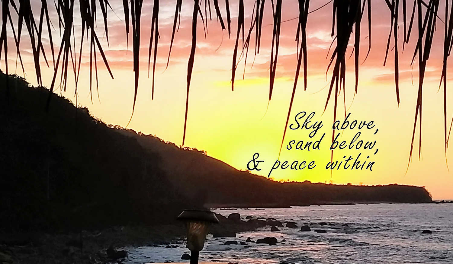 Sky Above, Sand Below and Peace within 2