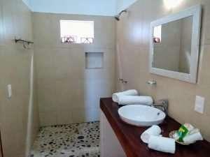 "Bathroom Sink – ""Caballito de Mar"" - Beach House Room - Treasure by The Sea Resort"