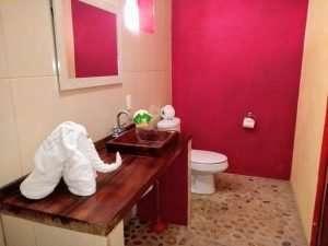 """Bathroom – """"La Casa de Arbol"""" - Beach House Room - Treasure by The Sea Resort"""