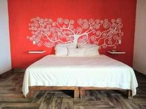 """Bed – """"La Casa de Arbol"""" - Beach House Room - Treasure by The Sea Resort"""