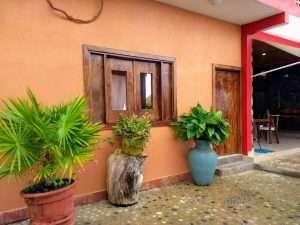 """Front Door – """"La Casa de Sirena"""" - Beach House Room - Treasure by The Sea Resort"""