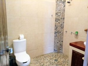"""Bathroom – """"La Casa de Sirena"""" - Beach House Room - Treasure by The Sea Resort"""