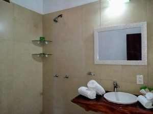 """Bathroom – """"La Casa del Pez Vela"""" - Beach House Room - Treasure by The Sea Resort"""