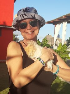 Lori-holding-the-Guinea-Pigs-at-Treasure-by-The-Sea-Resort