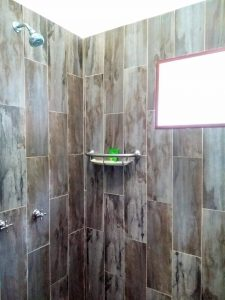 "Shower – ""Los Girasoles"" - Beach House Room - Treasure by The Sea Resort"