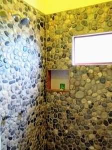 """Shower – """"El Delfin"""" - Beach House Room - Treasure by The Sea Resort"""